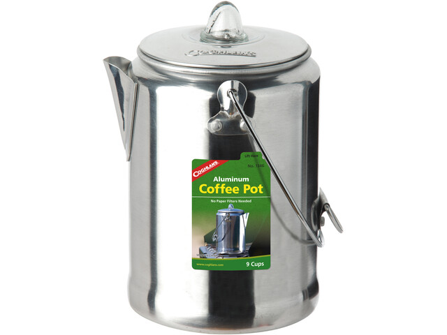 Coghlans Aluminium Coffee Percolator 9 Cups